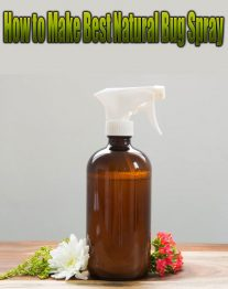 How to Make Best Natural Bug Spray