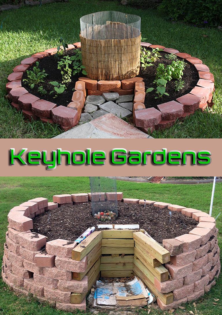 Keyhole Gardens: How to Make Keyhole Raised Bed