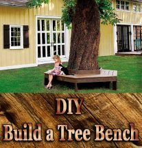 DIY - Build a Tree Bench
