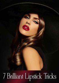 7 Brilliant Lipstick Tricks You Should Know About
