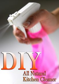 DIY - All Natural Kitchen Cleaner