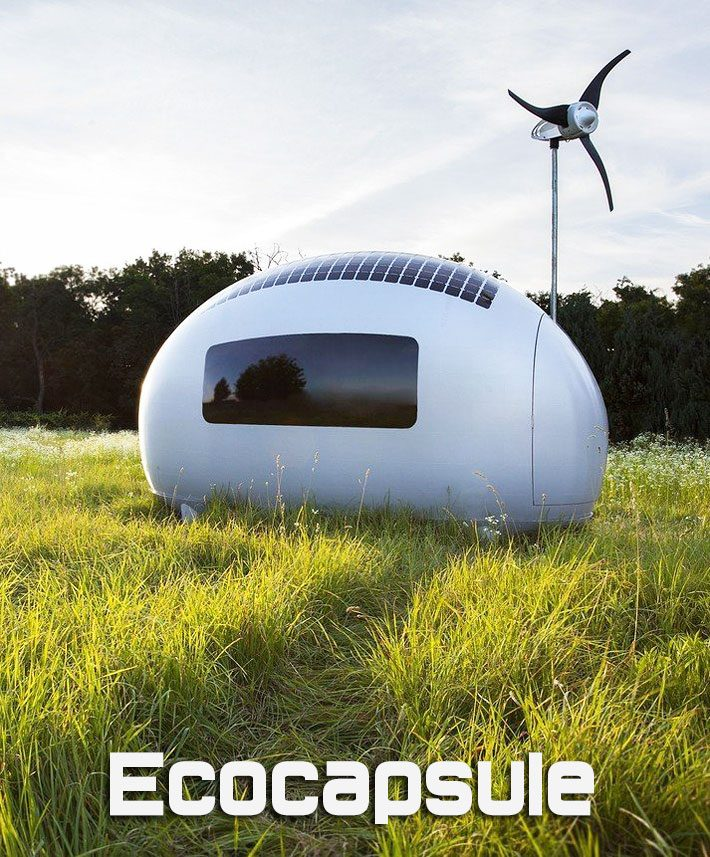 Ecocapsule – Tiny Eco-Friendly Off The Grid Home