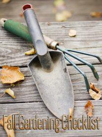 Fall Gardening Checklist 2