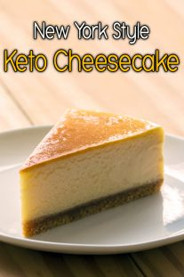 New York Style Keto Cheesecake