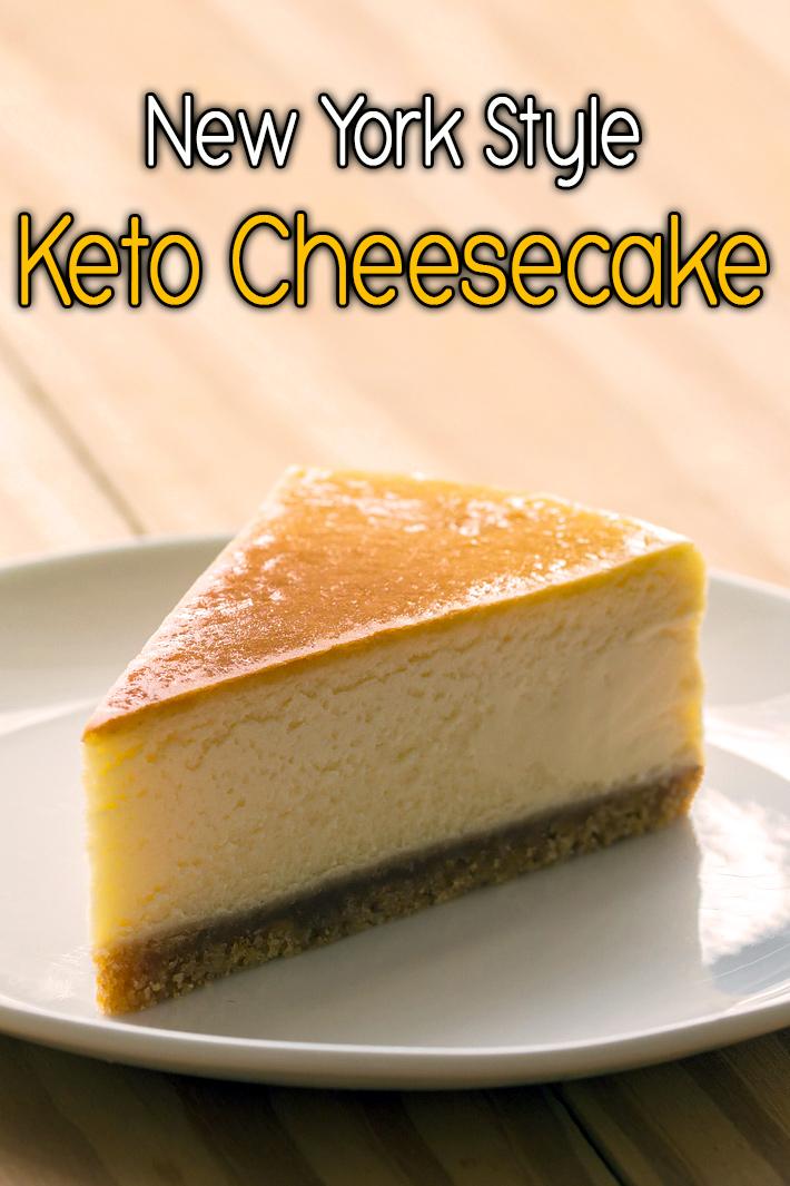 New York Style Keto Cheesecake