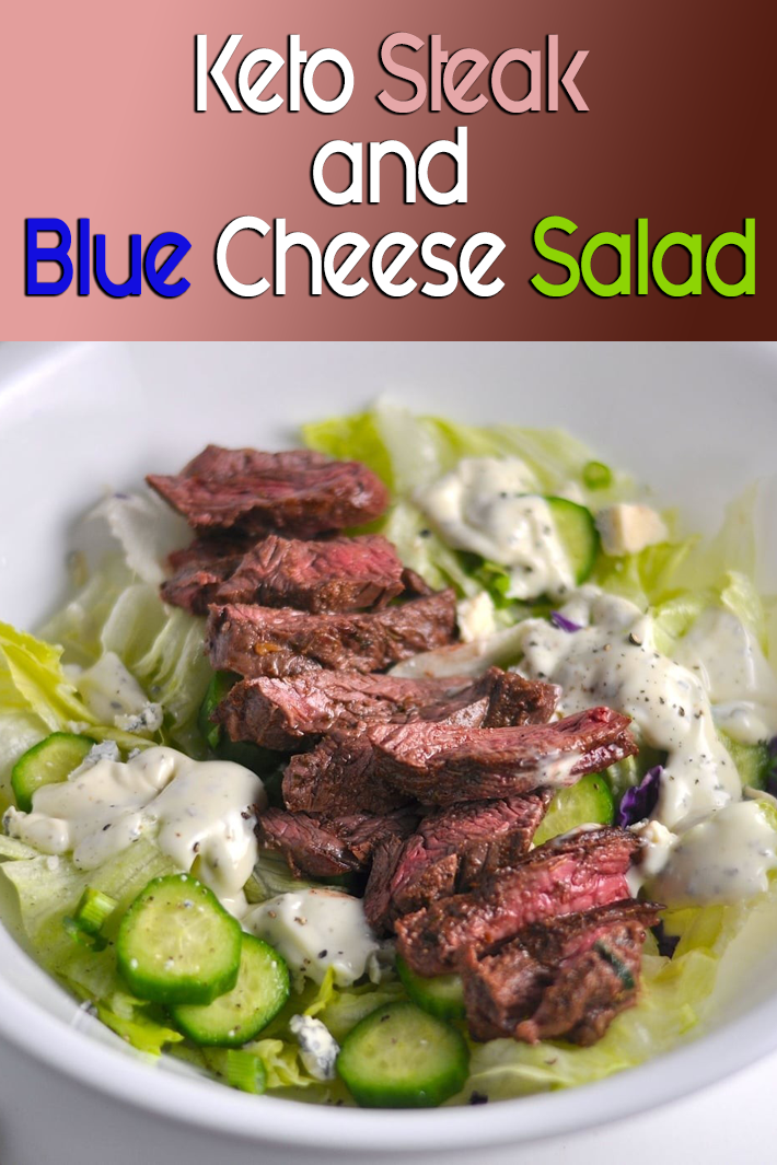 Keto Steak and Blue Cheese Salad