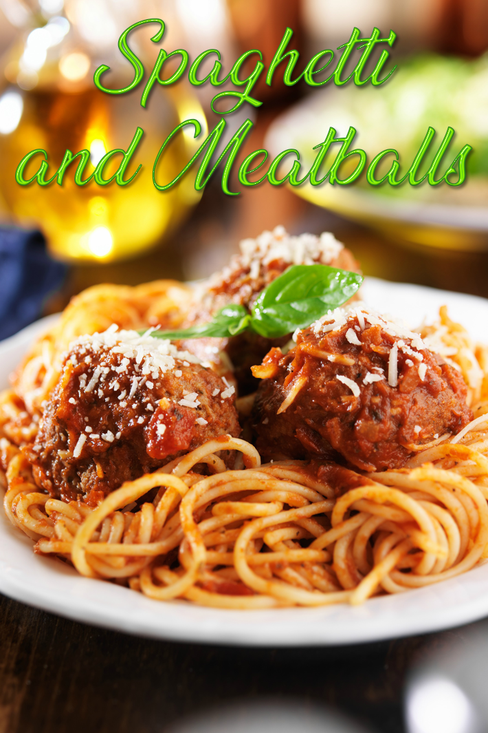 Italian Spaghetti and Meatballs Recipe