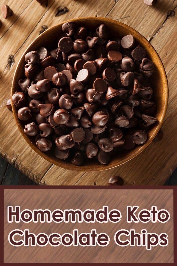 Homemade Keto Chocolate Chips