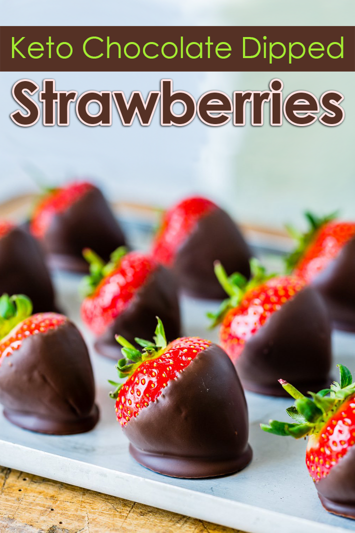 Keto Chocolate Dipped Strawberries