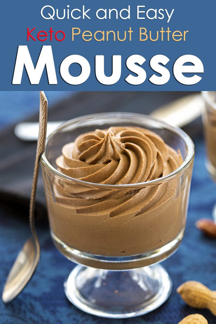 Quiet Corner Quick And Easy Keto Peanut Butter Mousse