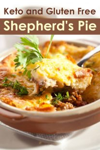 Keto and Gluten-Free Shepherd's Pie