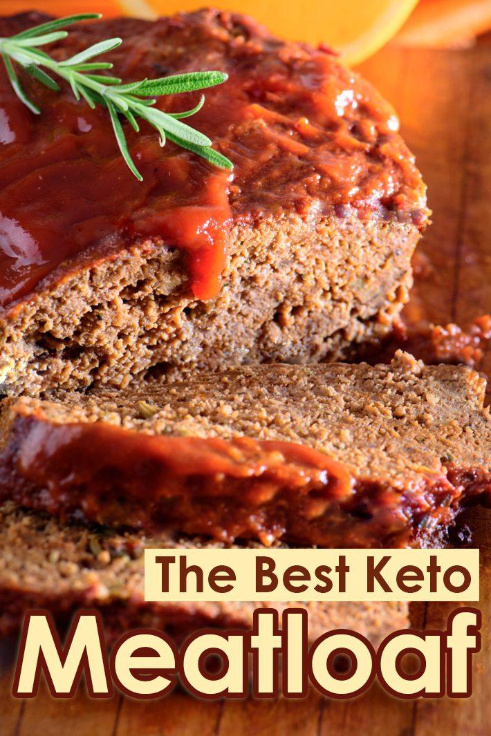 The Best Keto Meatloaf
