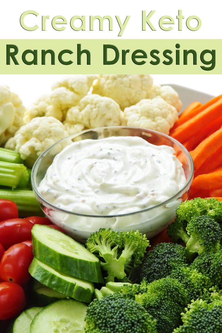 Creamy Keto Ranch Dressing