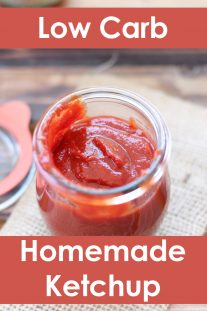 Homemade Low Carb Ketchup