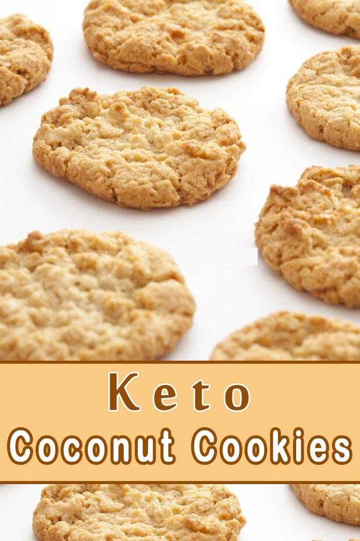Keto Coconut Cookies