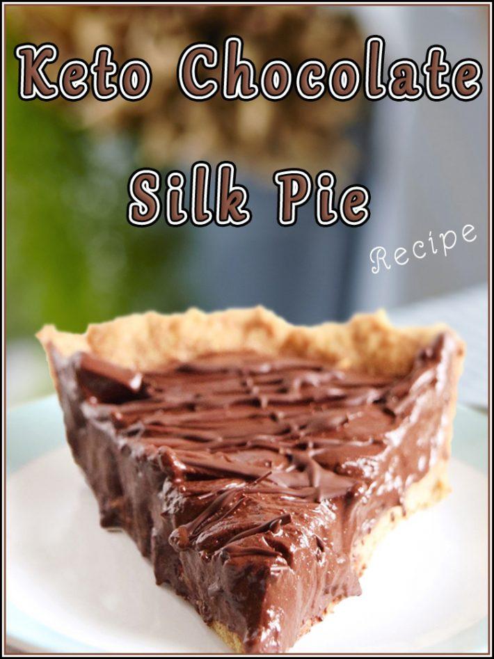 Keto Chocolate Silk Pie Recipe