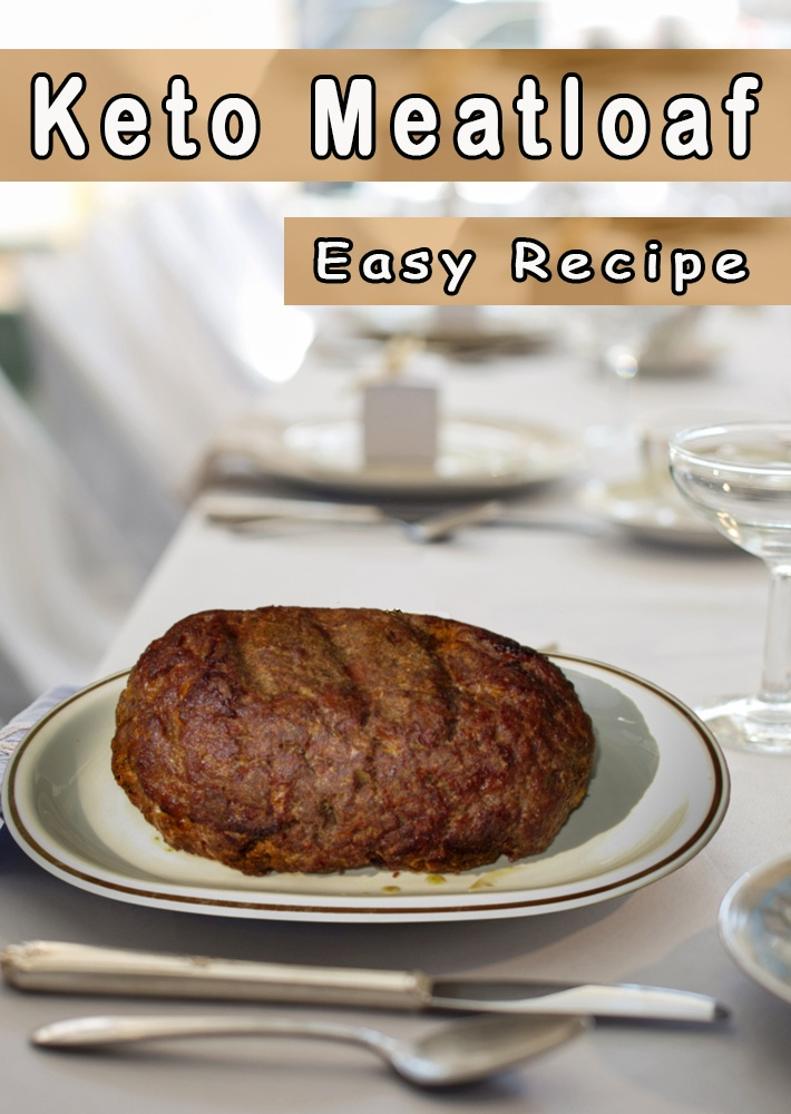 Keto Meatloaf Easy Recipe