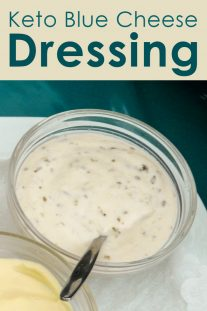 Keto Blue Cheese Dressing
